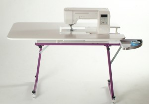 sewezi grande portable sewing table