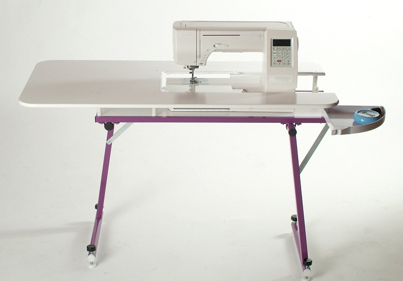 SewEzi Portable Sewing Tables Gorgeous How To Set Up A Sewing Machine Table