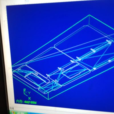 2017 CAD drawing for CNC machine