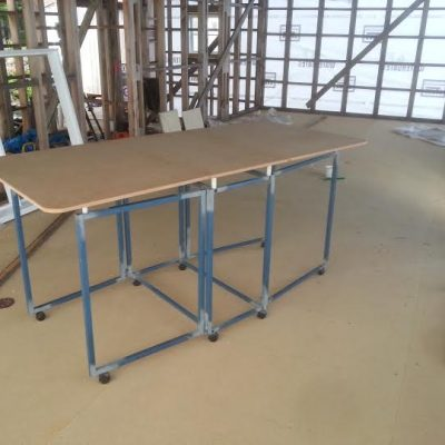 2016 First Prototype of Cutting and Design Table